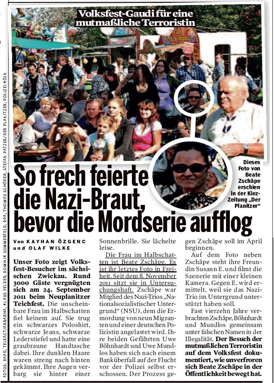 Beate Zschäpe - Susann Eminger - 1.Planitzer Teichfest - 24.September 2011