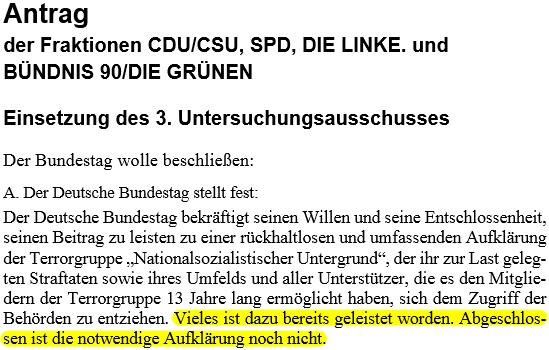 Bundestag Drucksache 18/6330 NSU