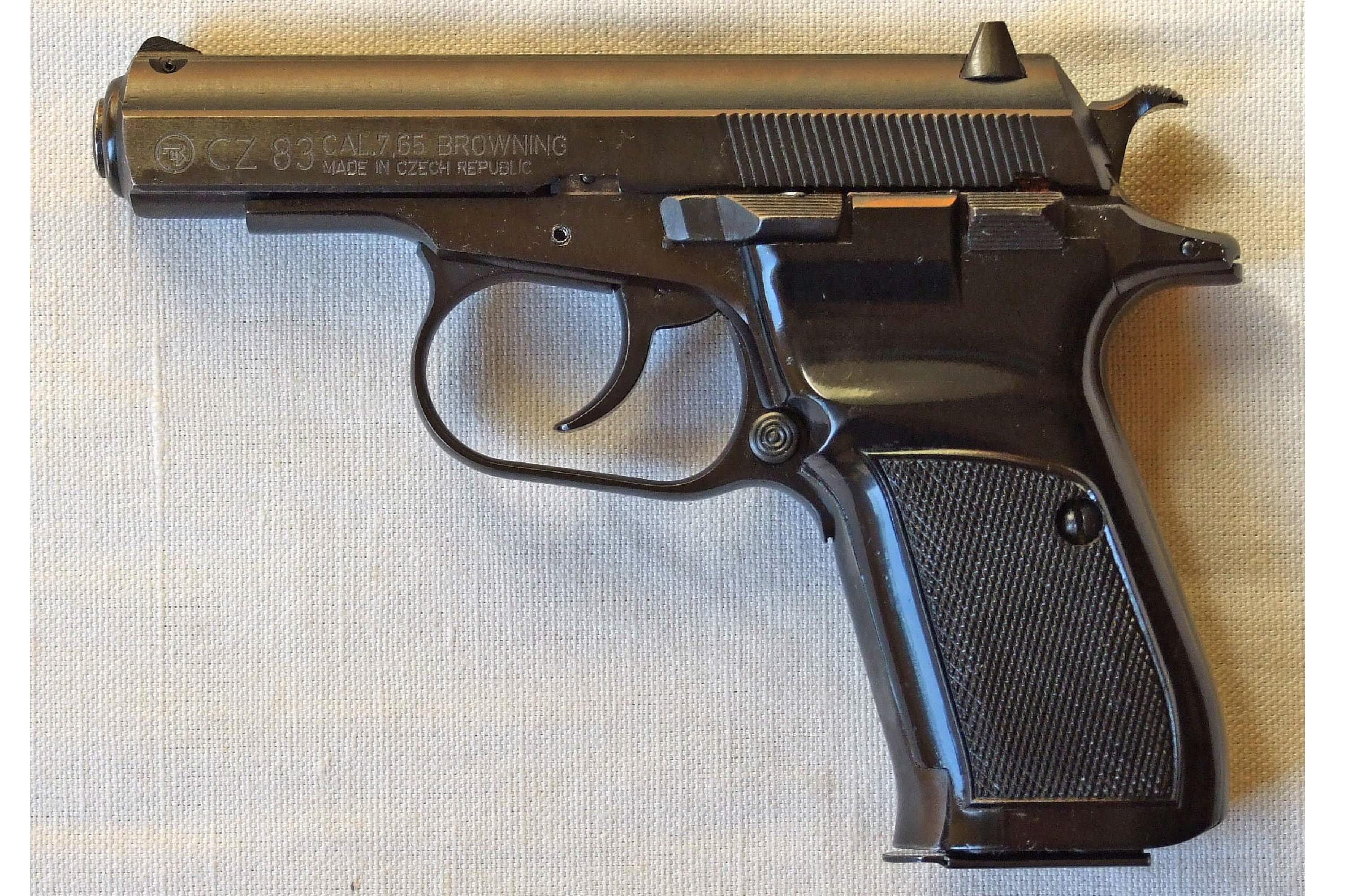 Ceska 83, 7.65mm, Standard Modell (ab 1993)