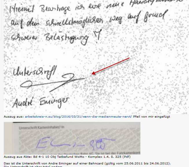 eminger unterschrift