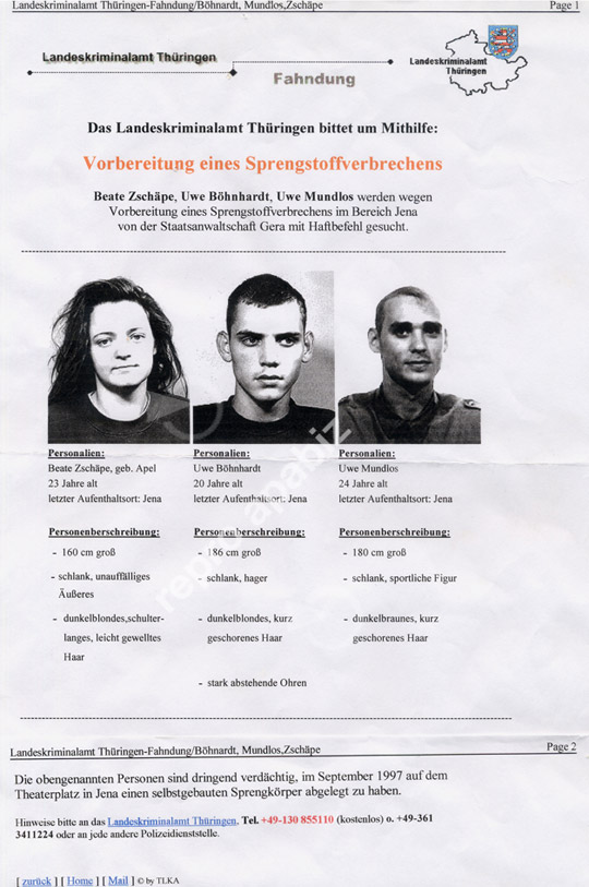 Fahndungsplakat-Boehnhardt-Mundlos-Zschaepe-1998